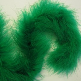 Marabou or feathers-band - green