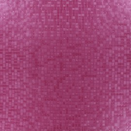 Simili cuir Swimmy - fuchsia x 10cm