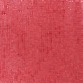 Simili cuir Swimmy - corail x 10cm