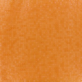 Imitation leather Swimmy - orange x 10cm
