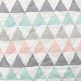 Tissu matelassé Trina - turquoise x 10cm