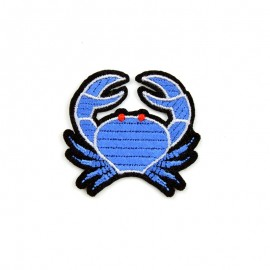 Thermocollant brodé Crabe bleu - Macon & Lesquoy