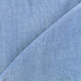 Viscose chambray fabric Denim - light blue x 10cm