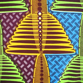 Tissu Wax - Kofi x 10cm