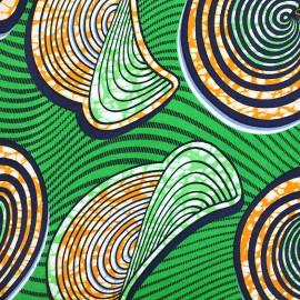 Tissu Wax - Mafé x 10cm