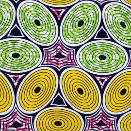 Tissu Wax - Okapi x 10cm