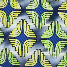Tissu Wax - Mujiba x 10cm