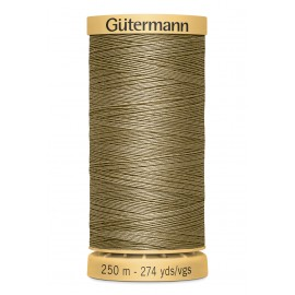 Bobine de Fil à coudre coton naturel Gutermann 250m - N°1015