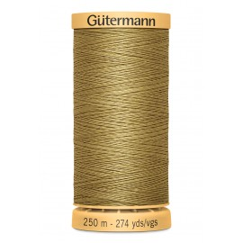 Bobine de Fil à coudre coton naturel Gutermann 250m - N°1136