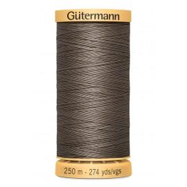 Bobine de Fil à coudre coton naturel Gutermann 250m - N°1225