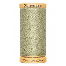 Bobine de Fil à coudre coton naturel Gutermann 250m - N°126