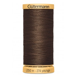 Bobine de Fil à coudre coton naturel Gutermann 250m - N°1523