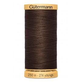 Bobine de Fil à coudre coton naturel Gutermann 250m - N°1912