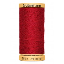 Bobine de Fil à coudre coton naturel Gutermann 250m - N°2074