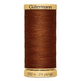 Bobine de Fil à coudre coton naturel Gutermann 250m - N°2143