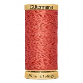Bobine de Fil à coudre coton naturel Gutermann 250m - N°2166