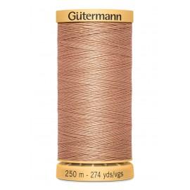 Bobine de Fil à coudre coton naturel Gutermann 250m - N°2336