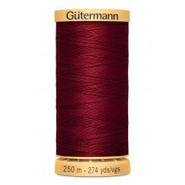 Bobine de Fil à coudre coton naturel Gutermann 250m - N°2433
