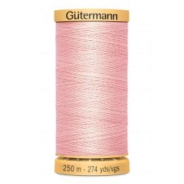Bobine de Fil à coudre coton naturel Gutermann 250m - N°2538