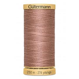 Bobine de Fil à coudre coton naturel Gutermann 250m - N°2626
