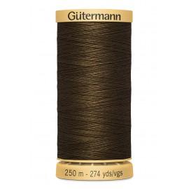 Bobine de Fil à coudre coton naturel Gutermann 250m - N°2960