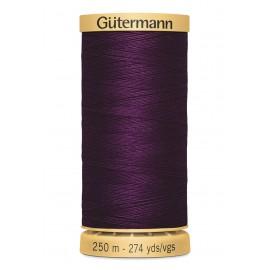 Bobine de Fil à coudre coton naturel Gutermann 250m - N°3832