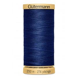 Bobine de Fil à coudre coton naturel Gutermann 250m - N°5123