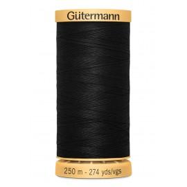 Bobine de Fil à coudre coton naturel Gutermann 250m - N°5201