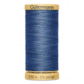 Bobine de Fil à coudre coton naturel Gutermann 250m - N°5624