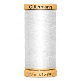 Bobine de Fil à coudre coton naturel Gutermann 250m - N°5709