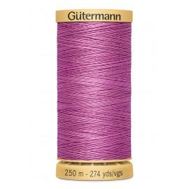Bobine de Fil à coudre coton naturel Gutermann 250m - N°6000