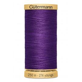 Bobine de Fil à coudre coton naturel Gutermann 250m - N°6150