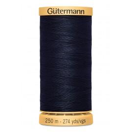 Bobine de Fil à coudre coton naturel Gutermann 250m - N°6210