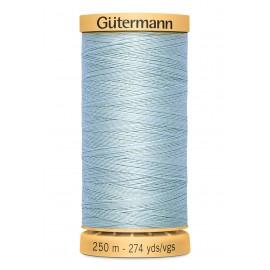 Bobine de Fil à coudre coton naturel Gutermann 250m - N°6217