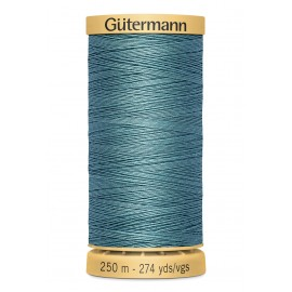 Bobine de Fil à coudre coton naturel Gutermann 250m - N°7325