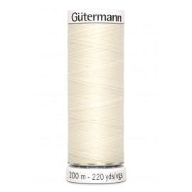 Sew-all thread Gutermann 200 m - N°1