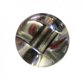 Bouton goutte d'eau 11 mm - Blanc