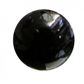 Bouton goutte d'eau 11 mm - noir