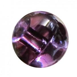 Bouton goutte d'eau 11 mm - violet