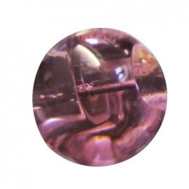 Bouton goutte d'eau 11 mm - Rose