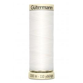 Bobine de Fil pour tout coudre Gutermann 100 m - N°800