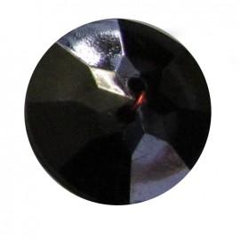 Bouton crystal Noir