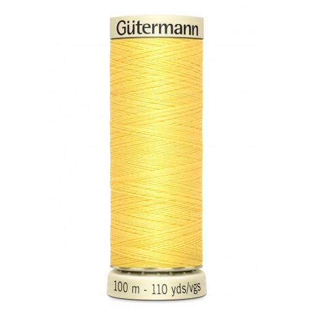 Bobine de Fil pour tout coudre Gutermann 100 m - N°852