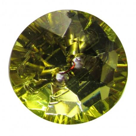 Bouton crystal Anis