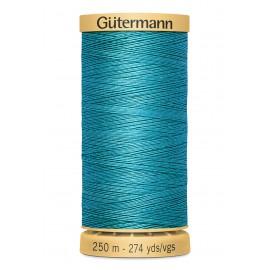 Bobine de Fil à coudre coton naturel Gutermann 250m - N°7235