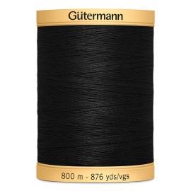 Bobine de Fil à coudre coton Gutermann 800m - N°5201