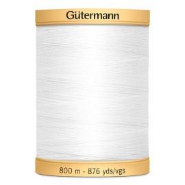 Bobine de Fil à coudre coton Gutermann 800m - N°5709