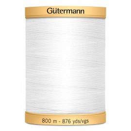 Natural Cotton Sewing Thread Gutermann 800m - N°5709
