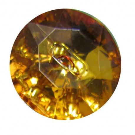 Bouton crystal Ambre
