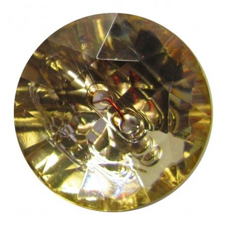 Bouton crystal Champagne